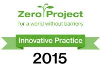 Zero Project for a world without barriers - Innovative Practice 2015